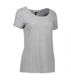 ID Core t-shirt dame 0541 grå melange-20