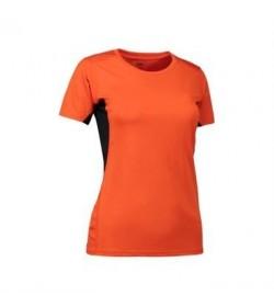 ID Game active t-shirt dame 0585 rød-20