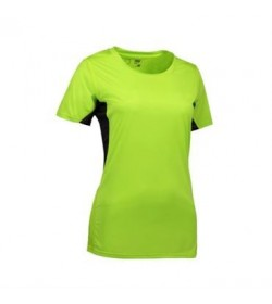 ID Game active t-shirt dame 0585 lime-20