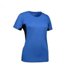 ID Game active t-shirt dame 0585 azur-20