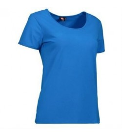 ID Stretch t-shirt dame 0590 turkis-20