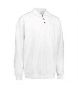 ID polosweatshirt 0601 hvid-20