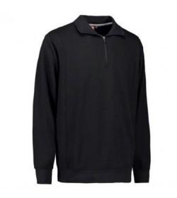 ID Sweatshirt med krave 0603 sort-20