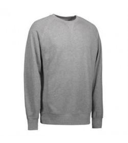 ID Eksklusiv sweatshirt 0613 grå melange-20
