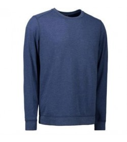 ID core sweatshirt 0615 blå melange-20