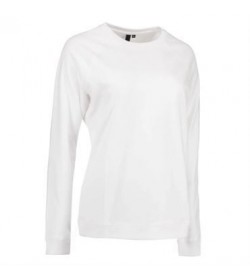 ID core sweatshirt dame 0616 grå melange-20