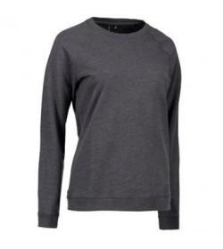 ID core sweatshirt dame 0616 koks melange-20