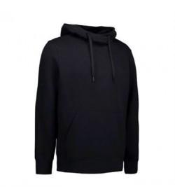 ID Sweatshirt med hætte 0636 sort-20
