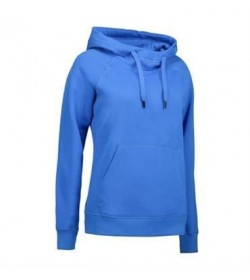 ID Sweatshirt med hætte dame 0637 azur-20