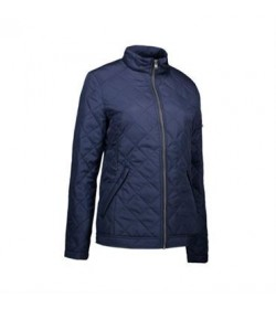ID quilted jakke dame 0731 navy-20