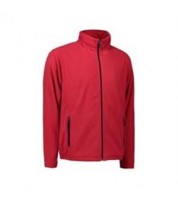 ID fleece jakke 0803 rød-20