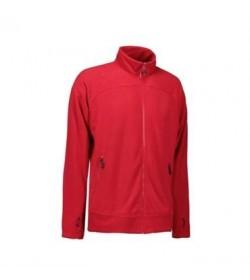 ID fleece jakke 0806 rød-20