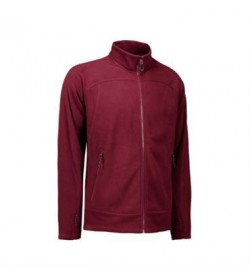 ID fleece jakke 0806 bordeaux-20