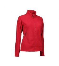 ID fleece jakke dame 0807 rød-20