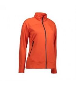 ID soft shell jakke dame 0819 orange-20