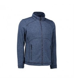 ID fleece jakke 0847 navy melange-20