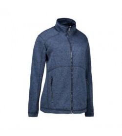 ID fleece jakke dame 0848 navy melange-20