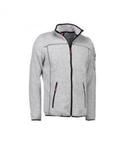 ID fleece jakke 0852 grå melange-20
