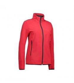 ID softshell jakke dame 0856 rød-20