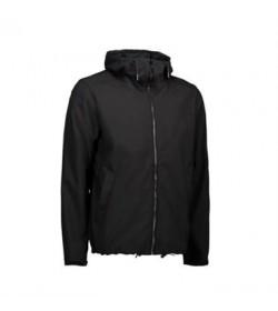 ID softshell jakke 0860 grå melange-20