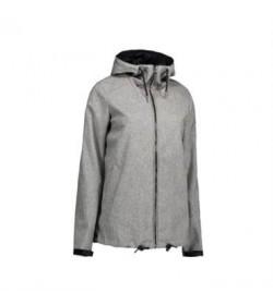 ID softshell jakke dame 0861 grå melange-20