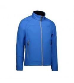 ID softshell jakke 0868 blå-20