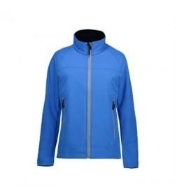 ID softshell jakke dame 0869 blå-20