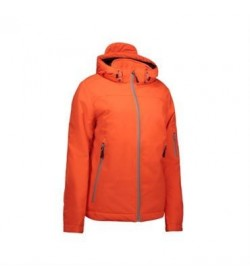ID vinter softshell jakke dame 0899 orange-20