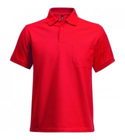 Kansas CODE Heavy polo shirt m/lomme-20