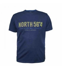 NORTH 56°4 printet t-shirt 99865 0580-20