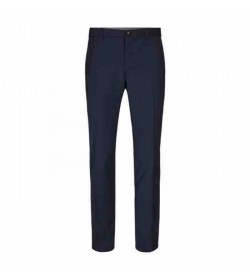 Sunwill bukser modern fit 10504-7312 410 Navy nålestrib-20