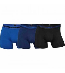 JBS 3-pack Bambus tights blå-20