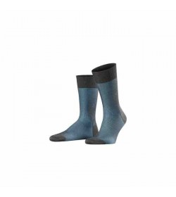 FALKE Fine Shadow Men Socks 13141 / grey-blue (3196)-20