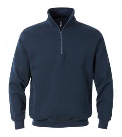 Kansas ACODE Sweatshirt M/kort lynlås-20