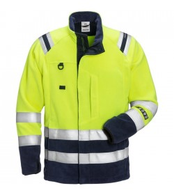 Kansas Flamestat Hi Vis fleece jakke kl.3 4062-20