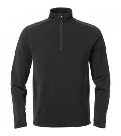 Kansas Superstretch sweatshirt m/kort lynlås-20