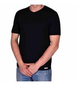 by Mikkelsen t-shirt v-hals sort-20