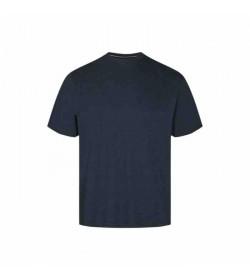 Signal t-shirt Eddy Marine blue melange-20
