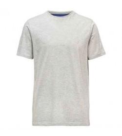 Signal t-shirt eddy light grey melange-20