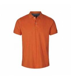 Signal polo nicky bornt orange melange-20