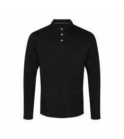 Signal grandad t-shirt Raven PD Black-20