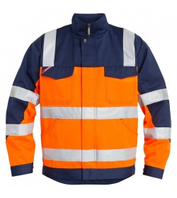 FE-Engel EN 20471 Jakke Orange/Marine-20