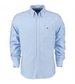 Redgreen skjorte 151300004 265 lys blå ternet-20