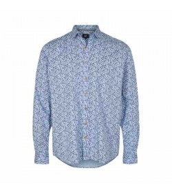 Signal skjorte Armin Print Kentucky Blue-20