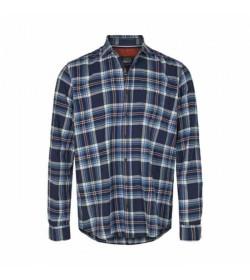 Signal skjorte Flemming Brushed Indigo mood-20