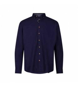 Signal skjorte Olsen Print Blue Captain-20