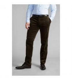 WILL Klassiske fløjlsbukser grøn-20