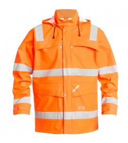 FE-Engel EN 20471 Regnjakke Orange-20