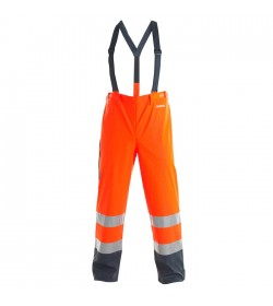 FE-Engel EN 20471 Regnbuks Orange/Marine-20