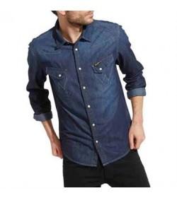 Wrangler denim skjorte W5974O71E-20
